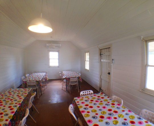 Stone house and Shearers Quarters function and dining room for larger groups