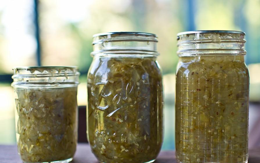 Recipe – Green Tomato Chutney
