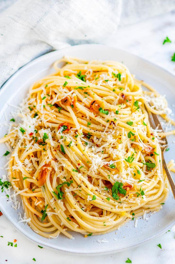 Recipe – Spaghetti Algio e Olio