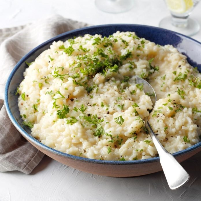 Recipe – Cauliflower Risotto